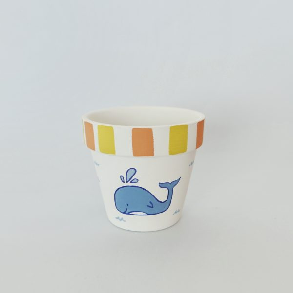 Whale of a Time Pot