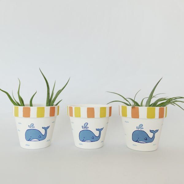 Whale of a Time pots