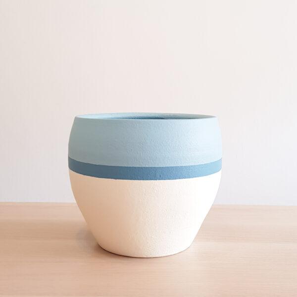 Cyclades II plant pot