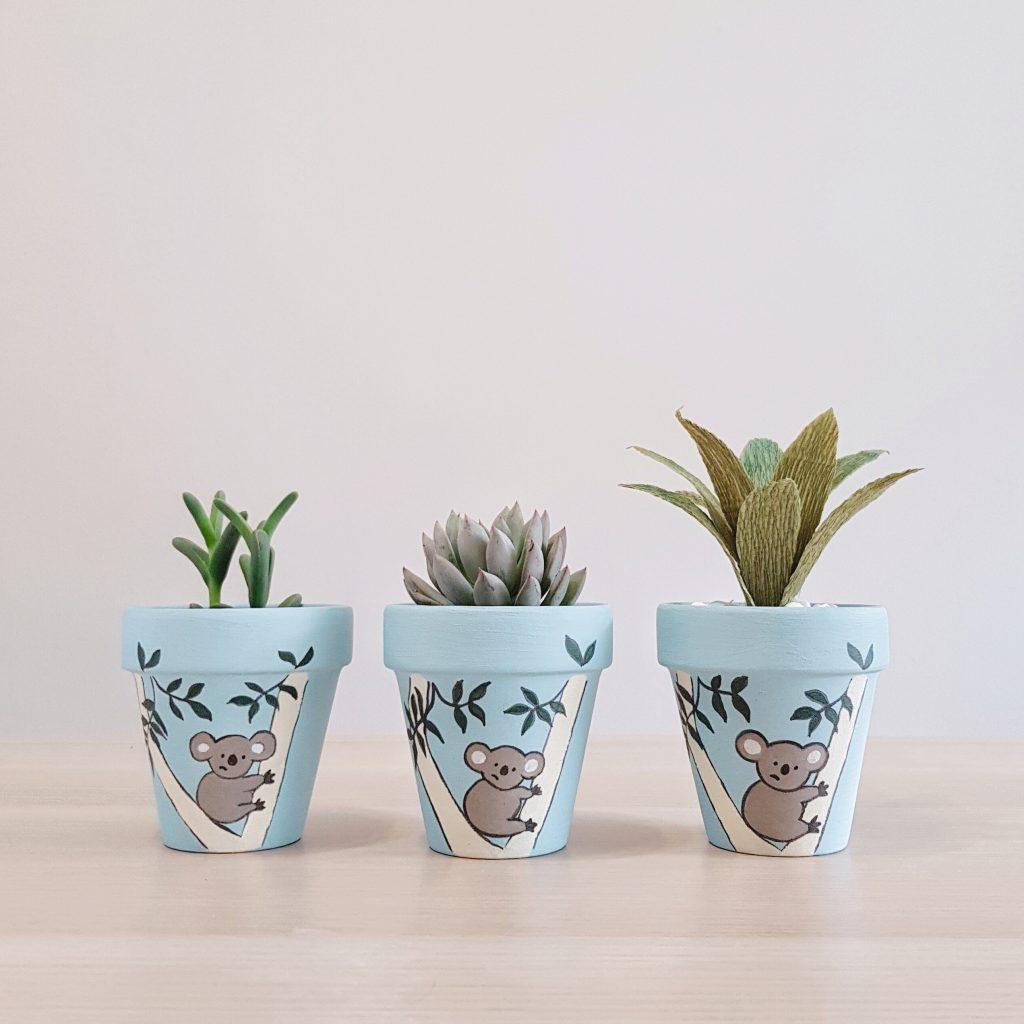 Confused Koala Pots