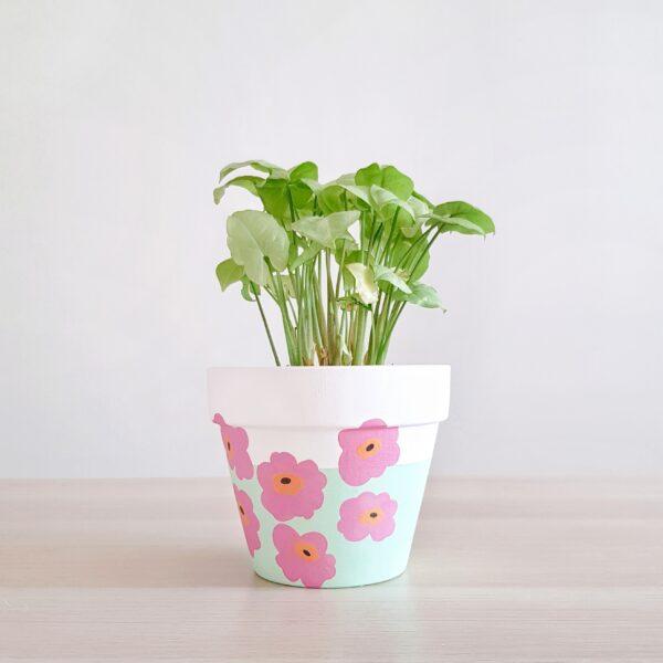 Marimekko (Pink Poppy)
