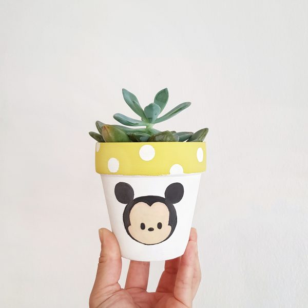 Mickey Mouse plant pot