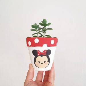 Minnie Mouse Plant Pot